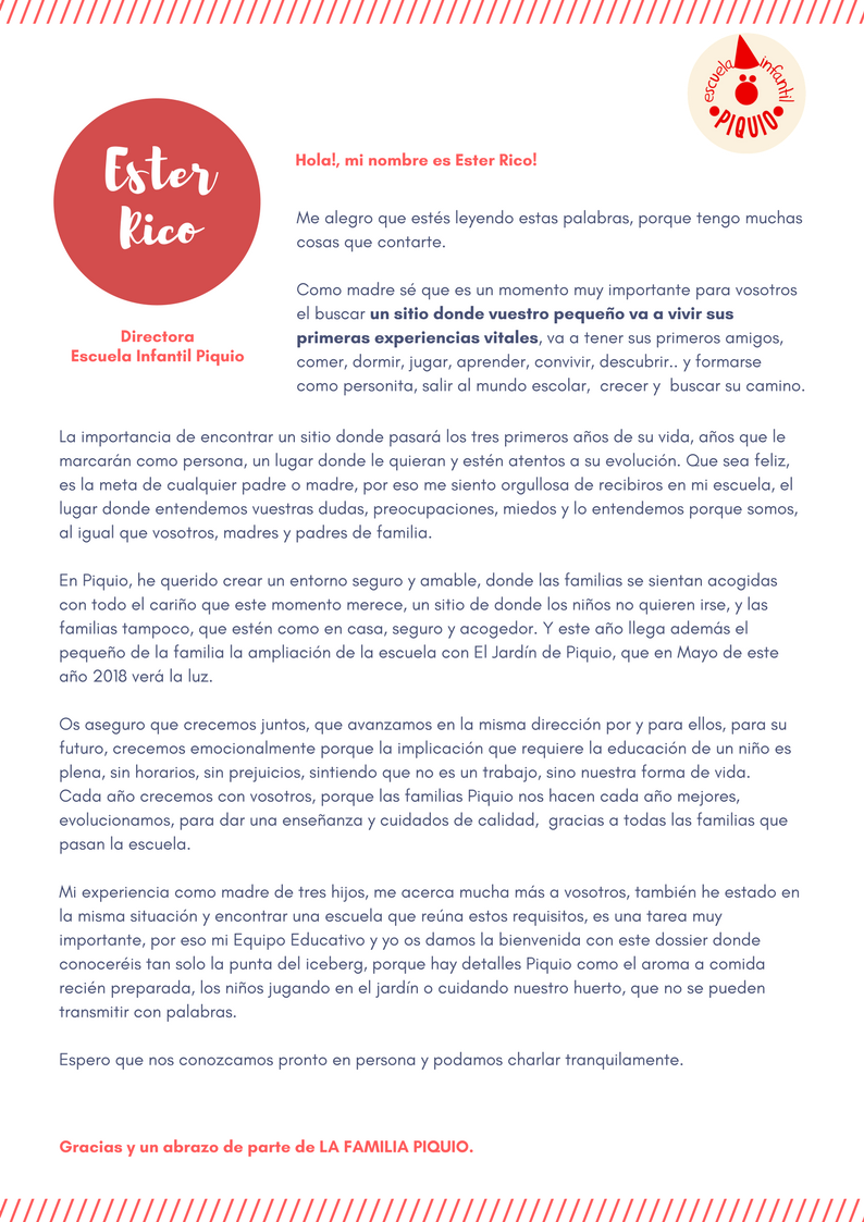 Dorable Carta De Presentación De Muestra De Maestro De Guardería ...